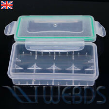 Custodia Batteria Per 18650 18350-WATERPROOF & DUSTPROOF Storage Holder Box NUOVO