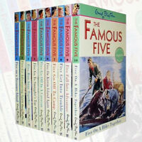 Enid Blyton Famous Five 10 Books (1 to 10 ) Pack Collection  Paperback English