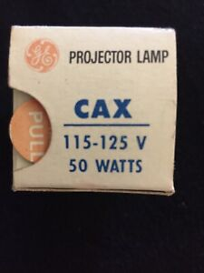 CAX GE PROJECTOR BULB 50W 115-125V MPN#29171 OPEN BOX SHIPS TODAY FROM FL