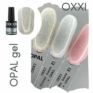 Opal Gel Polish Shine Gel Oxxi Opal Sparkle like Grattol  for Nail Art