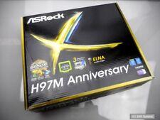 ASRock h97m Anniversary, placa madre, Micro ATX, lga1150 socket, nuevo, embalaje original