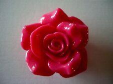 2 Hole Slider Beads Focal Beads Rose Pink #1