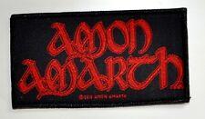 Amon Amarth Patch Gewebt /& Lizenziert !! Amon Amarth Burning Eagle Aufn/äher