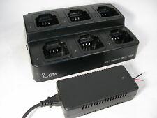New listing iCom Bc-121N Multi-Charger 6 Way / Bay Handheld Radio Charger