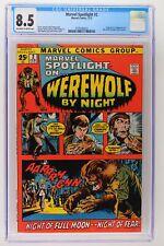 Marvel Spotlight #2 - Marvel 1972 CGC 8.5 Origin & 1st App Werewolf by Night!