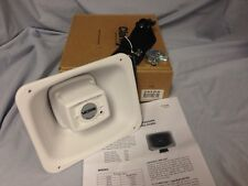 Valcom S-604-25-W 4 Watt 25 Volt Weather-Proof Paging Speaker Horn White