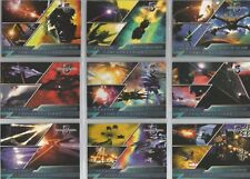 "Complete Babylon 5 - ""Classic Confrontations"" 9 Card Chase / Insert Set #CC1-9"