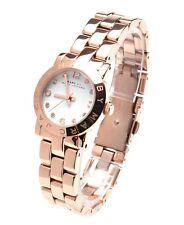 * Nuevo ** MARC JACOBS Señoras Reloj De Oro Rosa Reloj De MBM3078 Mini Amy RRP £ 199