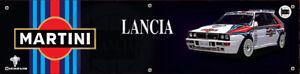 MARTINI LANCIA MICHELIN PVC BANNER Sign Workshop office pit lane man cave