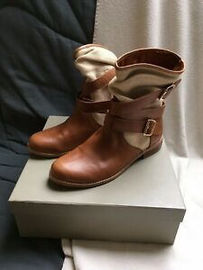 Bottines Boots Mellow Yellow modèle Natalya couleur camel taille 39 Comme neuf