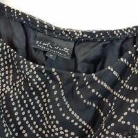 [ NICOLA WAITE ] Womens Silk Print Skirt  | Size 2 or AU 12