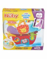 Nuby Bath Books 2 Pack 0+ months NEW