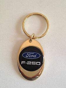 Ford F-250 Keychain Solid Brass key chain Personalized Free