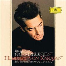 HERBERT VON KARAJAN/BP - 9 SINFONIEN (BLU-RAY AUDIO)  BLU-RAY NEU BEETHOVEN