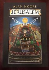 Jerusalem Signed Limited Edition - Alan Moore Autographed - Numbered 1st/1st