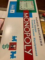 Monopoly Board Game Vintage 1961 Parker Brothers Classic Original Box