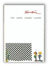 Franquin Gaston Lagaffe une gaffe chasse l'autre 500 ex numerotes