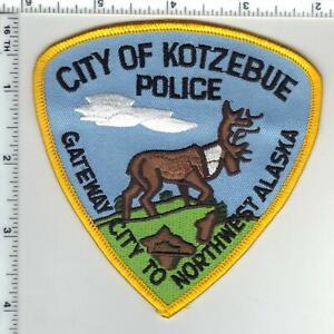 City of Kotzebue Police (Alaska) 2nd Issue Shoulder Patch