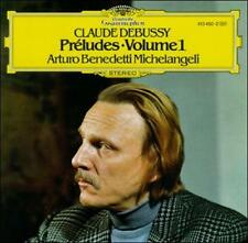 ARTURO BENEDETTI MICHELANGELI Debussy: Pr'eludes, Book 1 CD OOP DGG GERMAN