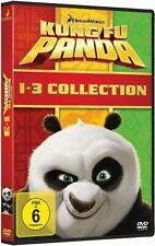 DVD KUNG FU PANDA - Collection # Teil 1-3 (3 DVDs) ++NEU