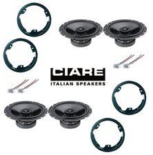 CIARE Kit 4 casse per FORD S-MAX 2007> con ADATTATORI E SUPPORTI