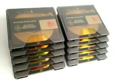 10 Stück Sony PREMIUM GOLD MiniDisc MD Mini Disc MiniDisk 80 min. + Schutzhüllen