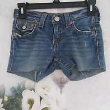 True Religion Cut Off Short Shorts Billy Boy Size 8