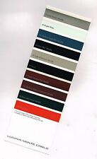 1999 Chevrolet MONTE CARLO / LUMINA Paint Color Chip Chart Sample Brochure: Z34,
