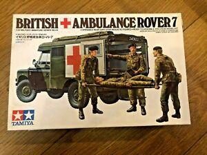 Tamiya British Ambulance Rover 7 Sealed 1:35 scale