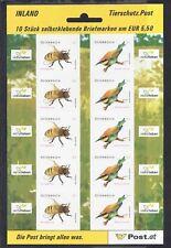 Österreich 2009 ** 2819-20 Folienblatt Tierschutz Biene Postfrisch siehe scan