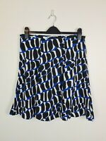 Leona Edmiston A-Line Circle Print Skirt Womens Size 14 Casual Party Lightweight