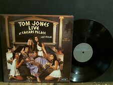 TOM JONES  Live at Caesars Palace  DBL  LP    GREAT !!