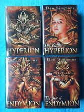 Dan SIMMONS - HYPERION - 1,2,3,4 Subterranean Press limited numbered signed NEW