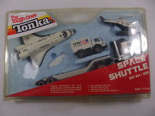 Tonka Tough Ones Space Shuttle Gift Set w/ Helicopter Semi Truck & Van #1039