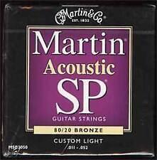 Martin Sp Cuerdas para guitarra acústica de bronce 11-52 MSP3050
