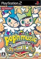 Used PS2  Pop'n Music 13 Carnival  KONAMI  SONY PLAYSTATION JAPAN IMPORT