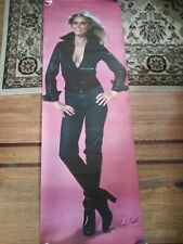 Original 1978 6ft Cheryl Ladd Door Poster
