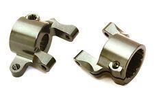 C27157GUN Integy Billet Machined Alloy F Caster Blocks for Axial 1/10 SCX10 II