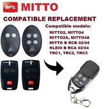 BFT MITTO-2, MITTO-4 Ricambio Compatibile Telecomando (Batteria inclusa)
