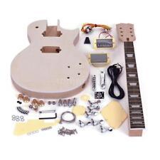 New LP Electric Guitar Mahogany Body Rosewood Fingerboard DIY Kit+Free Ship I9K0