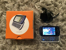 Used- LG C410 Expression 2 (AT&T only) Blue QWERTY Slider Cellular Phone