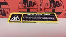 ALFA ROMEO 145/146/156/166/GTV/SPIDER TARGHETTA 12855380