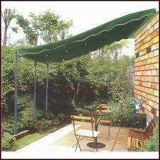 Veranda Pergola Gazebo IN ACCIAIO MT.3X4 VERDE Telo Tenda Carport Copertura Auto