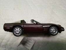 New ListingFranklin Mint 1993 Chevy Corvette Zr-1 Coupe 1:24 Scale Diecast Anniversary Car