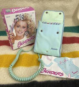 Vintage 1987 Clairol Benders Heated Flexible Hair Curlers