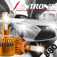 880/881 1020W 153000LM CREE LED Headlight Kit Fog Light 6000K White High Power