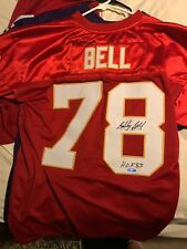 Bobby Bell Authentic Autographed Kansas City Chiefs Jersey - Tristar Authentic