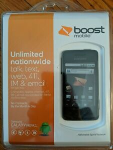 New Sealed Samsung Galaxy Prevail SPH-M820 Black (Boost Mobile - Sprint)