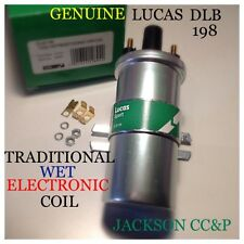 LUCAS DLB198 IGNITION COIL TRADITIONAL WET/ELECTRONIC FITS JAG,ROVER,LOTUS,ROLLS