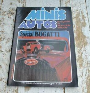 Vintage Minis Auto Magazine issue 36 - Miniature car model - French